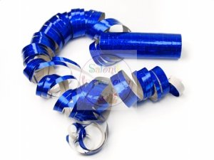 Serpentyna holo 18 rolek niebieska