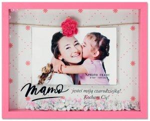 Ramka 3D Mama Czarodziejka - prezent na Dzień Mamy
