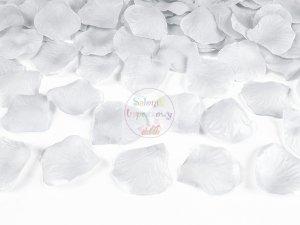 Płatki róż w woreczku srebrne 100 szt