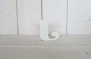 Litera drewniana wys. 18 cm J 1szt