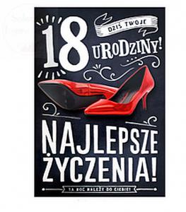 Karnet mega 18  Szpilka 48 x 32 cm