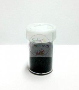 Brokat florystyczny sypki czarny 8g
