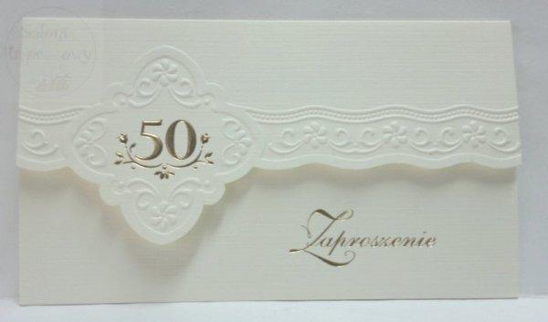 Zaproszenie na 50-cie lecie Ślubu 1szt