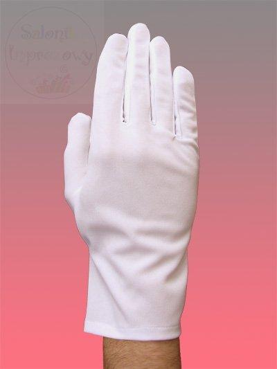 Rękawiczki do sztandaru męskie matowe z dzianiny L