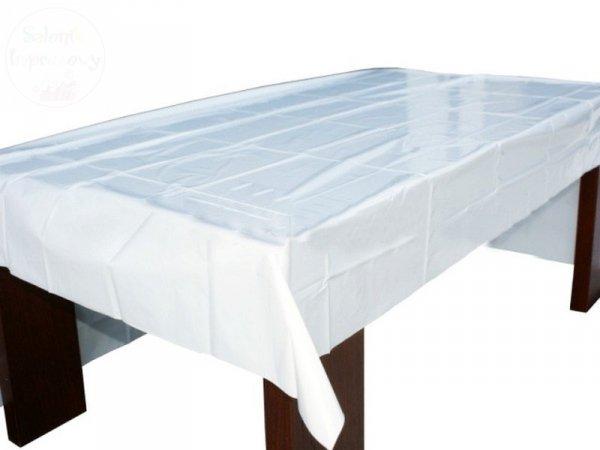Obrus foliowy biały 120x180cm