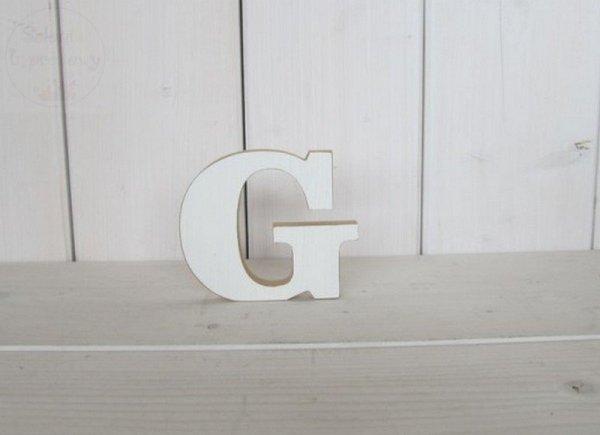 """Litera drewniana wys. 18 cm """"G"""" 1szt"""