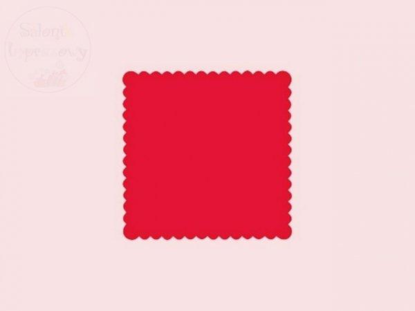 Serwetki 1 warstw 15x15cm czerwone 200szt