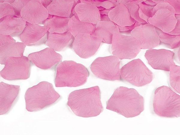 Tuba strzelająca różowymi płatkami róż 60 cm