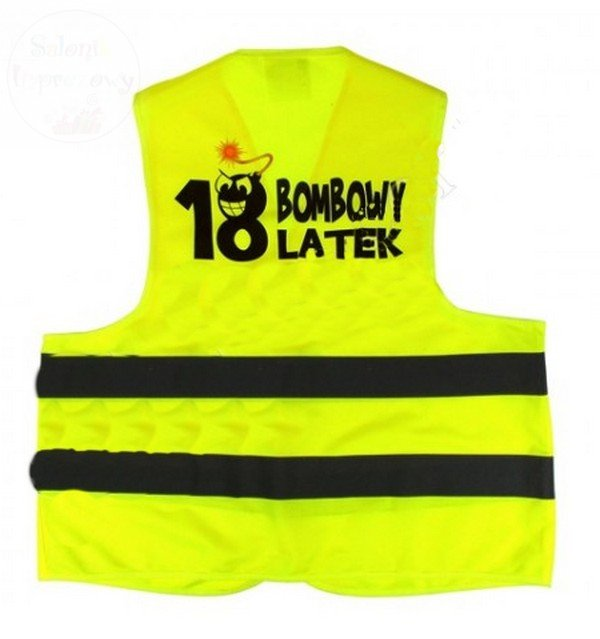 Kamizelka BOMBOWY 18-LATEK