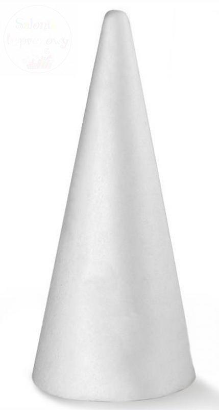 Styropianowy stożek 200 mm