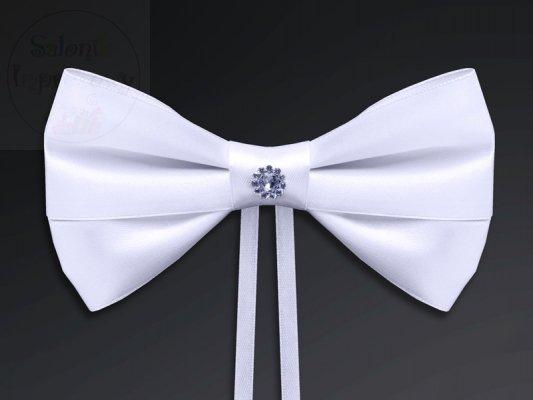 Koakrdy z rozetą białe 4szt KOK3-008