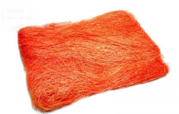 Sizal w woreczku kolor pomarańczowy