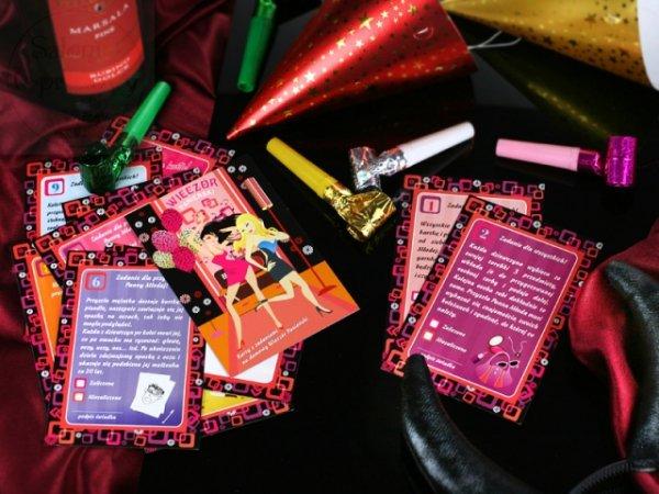 Karty do gry na wieczór panieński do gry w domu