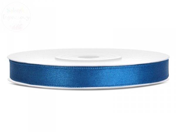 Tasiemka dwustronna niebieska 6mm / 25 m