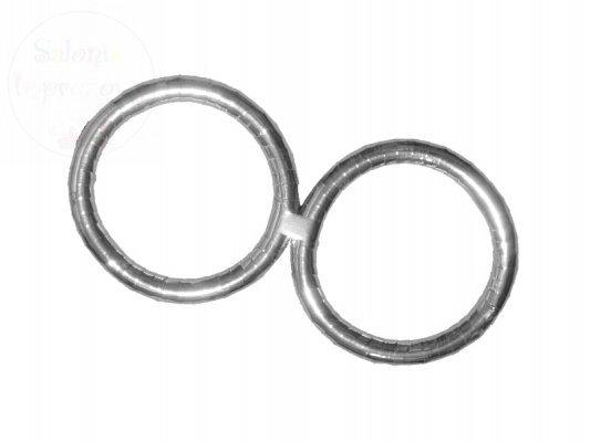 Obrączki srebrne 40cm komplet OBS-018