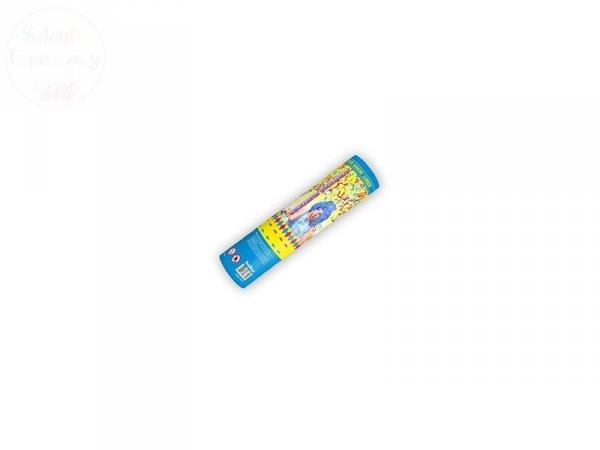 Tuba strzelająca kolorowym konfetti 20cm TUKN20
