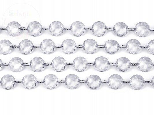 Girlanda kryształowa długość 1m, 1szt CC01