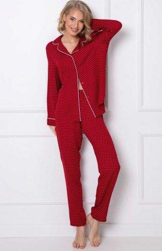 Rozpinana piżama damska Aruelle Michaela Long
