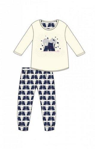 Piżama Cornette Kids Girl 974/94 Two Cats dł/r 86-128