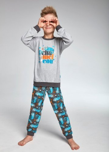 Piżama Cornette Kids Boy 593/84 Chameleon dł/r 86-128