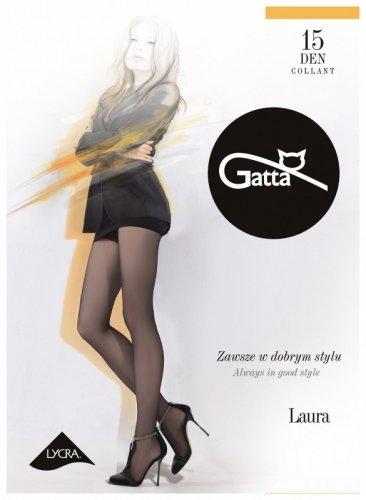 Rajstopy Gatta Laura 15 den 5-XL, 3-Max