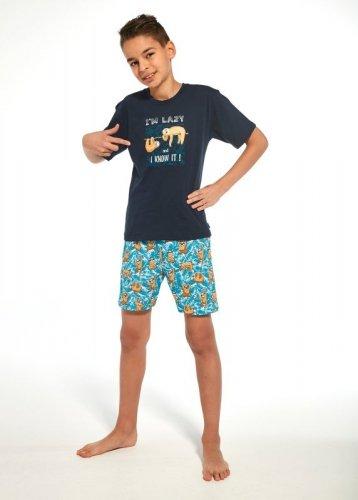 Piżama Cornette Young Boy 790/75 I'm Lazy kr/r 134-164