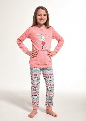 Piżama Cornette Kids Girl 594/107 Walk dł/r 86-128