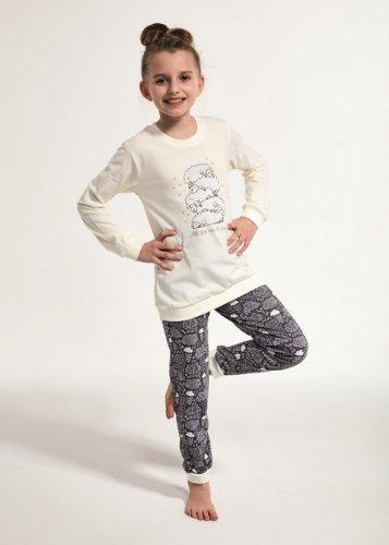 Piżama Cornette Kids Girl 594/114 Sheep dł/r 86-128