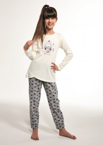 Piżama Cornette Young Girl 031/111 Bird dł/r 134-164