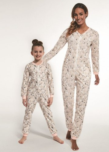 Kombinezon Cornette Kids Girl 105/119 Polar Bear 2 dł/r 86-128