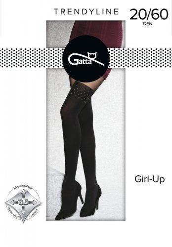 Rajstopy Gatta Girl-Up wz.34 20/60 den