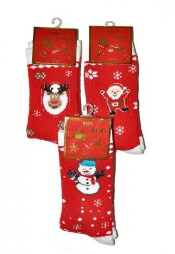 Skarpety WiK 5002 Merry Christmas