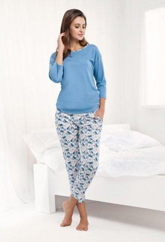 Piżama Luna 488 3/4 4XL damska