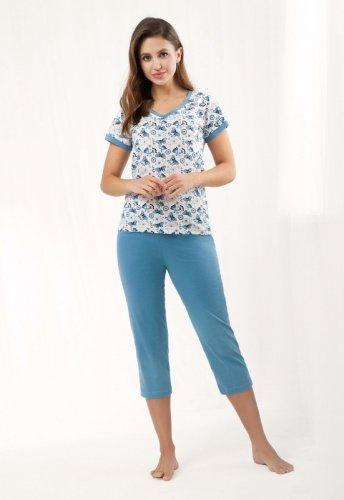 Piżama Luna 473 kr/r 3XL damska