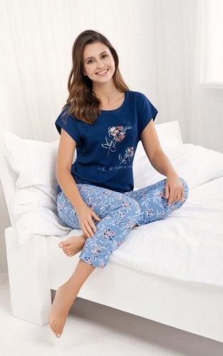 Piżama Luna 484 kr/r 3XL damska