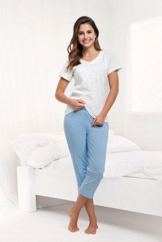 Piżama Luna 481 kr/r 4XL damska