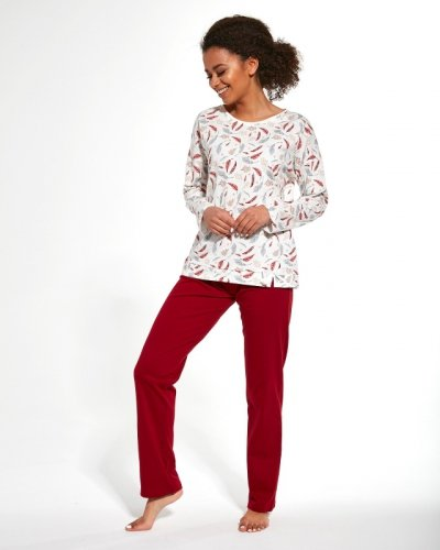 Piżama Cornette 392/250 Hannah dł/r S-2XL