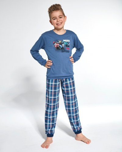 Piżama Cornette Young Boy 966/112 Need For Speed dł/r 134-164