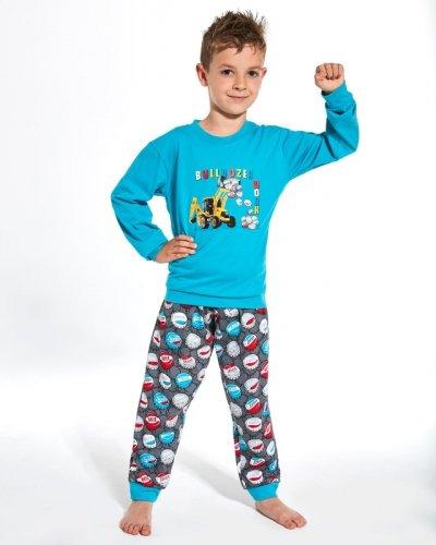Piżama Cornette Kids Boy 593/106 Caps dł/r 86-128