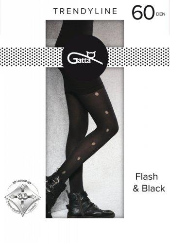 Rajstopy Gatta Flash & Black wz.03 60 den