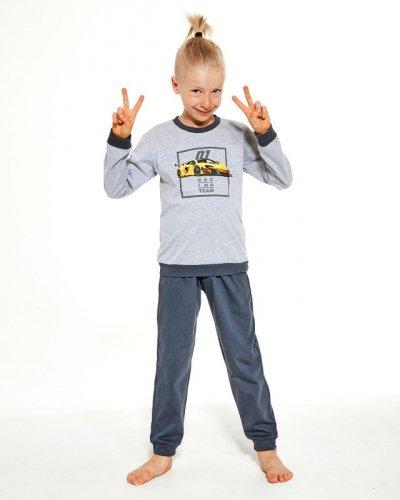 Piżama Cornette Kids Boy 477/126 Team dł/r 86-128