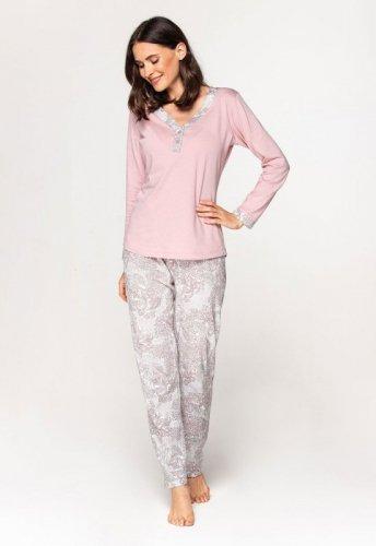 Piżama Cana 579 dł/r 2XL