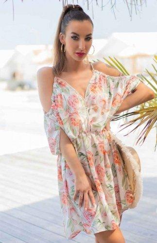 Sukienka letnia wiązana na plecach Gabrian