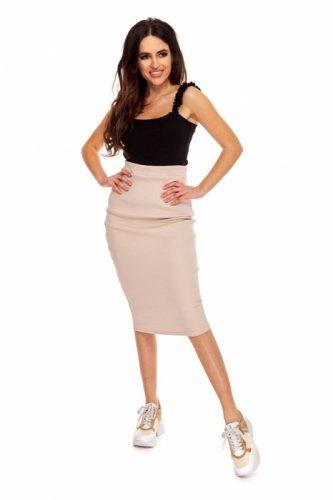 dresowa spódnica o ołówkowym kroju