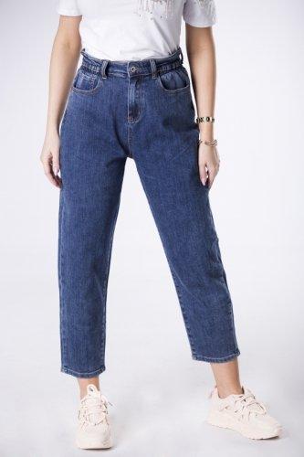 jeansy typu mom fit