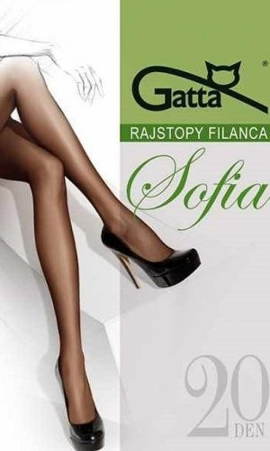 Rajstopy Gatta Sofia Elastil 20 den 2-S