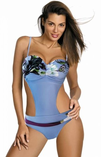 Monokini niebieskie Mandy M-423 (3)