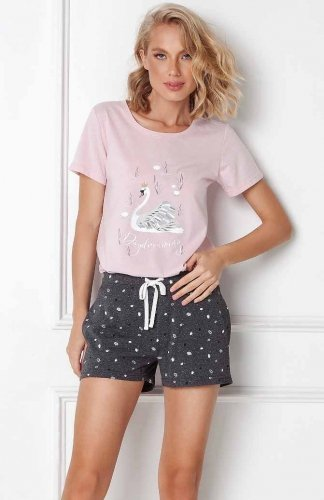 Piżama Aruelle Sharon Short kr/r XS-2XL