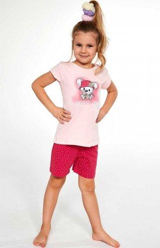 Piżama Cornette Kids Girl 787/85 Little Mouse 86-128