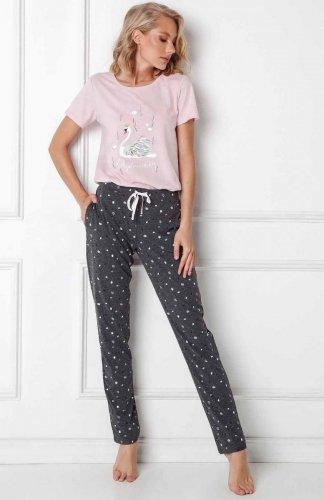 Piżama Aruelle Sharon Long kr/r XS-2XL
